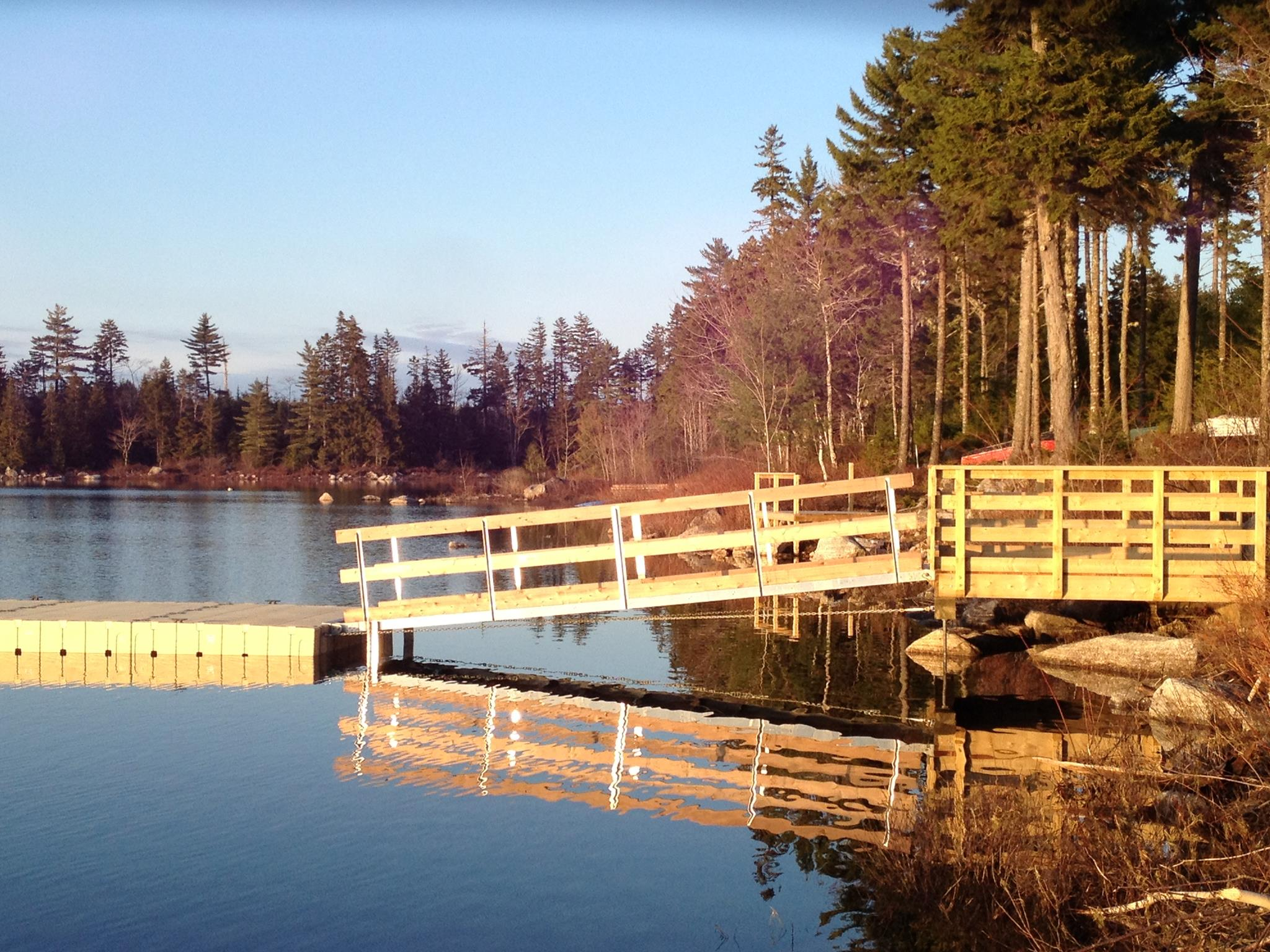 Wrights Lake Dock 2